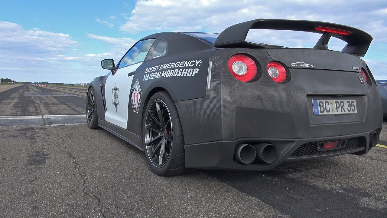 nissan gt r ams alpha 16 w greddy exhaust fast accelerations youtube. Black Bedroom Furniture Sets. Home Design Ideas