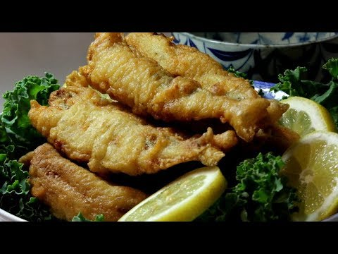 Deep Fried Smelt Fish With Lemon