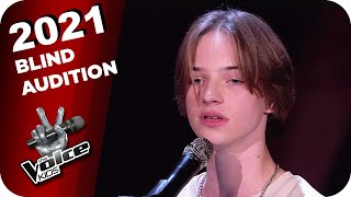 Max Prosa - Flügel (Egon) | The Voice Kids 2021 | Blind Auditions