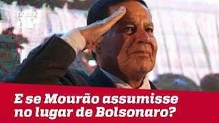 General Mourão comenta o que ocorreria se assumisse a Presidência no lugar de Bolsonaro