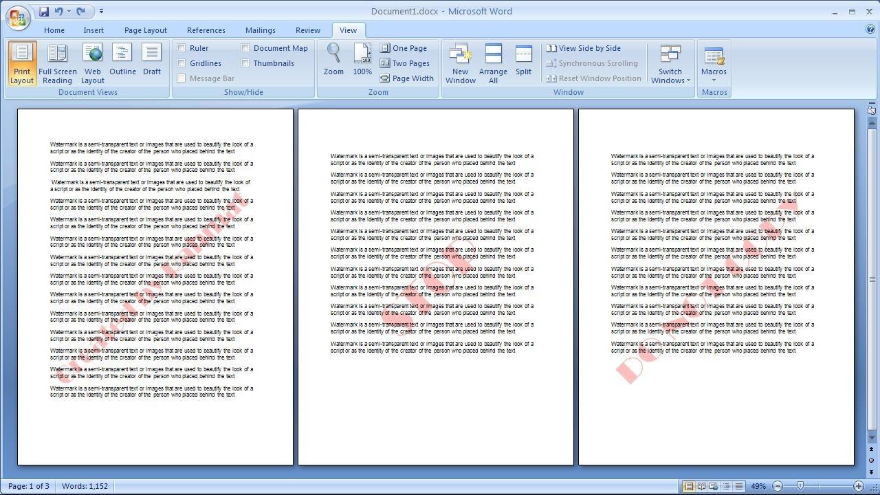 put a watermark on a pdf