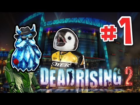 Penguin Plays Dead Rising 2: EP 1 - Kony 2012