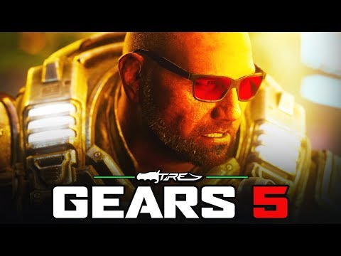 GEARS 5 - First Look at Batista In-Game & How to Unlock Him (GEARS 5 Dave Bautista Character)