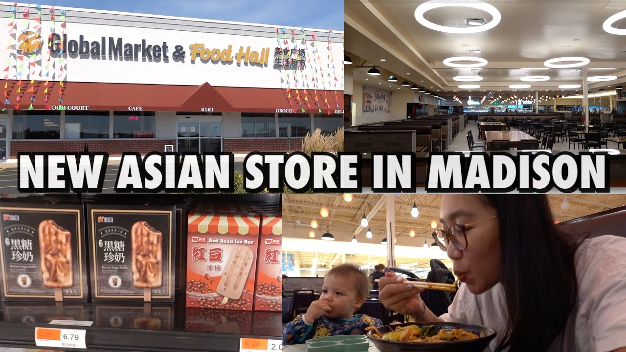 Newly Opened Asian Store in Madison - Global Market & Food