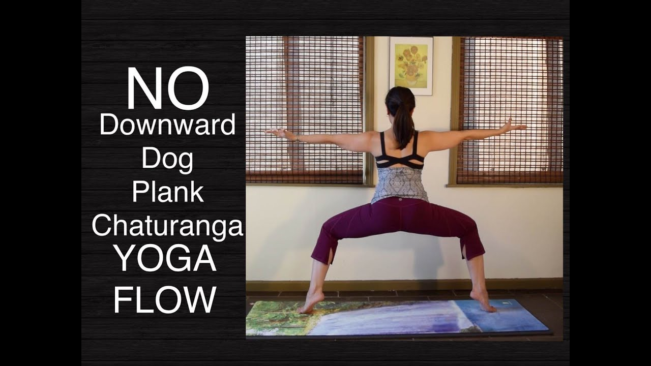 40 Minute Wrist Free Hands Free Yoga Flow for Lower Body