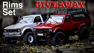 WPL trucks on the trail and GIVEAWAY (2speed gearbox and 180motor)