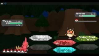 Roblox Pokemon Gameplay Teil 3