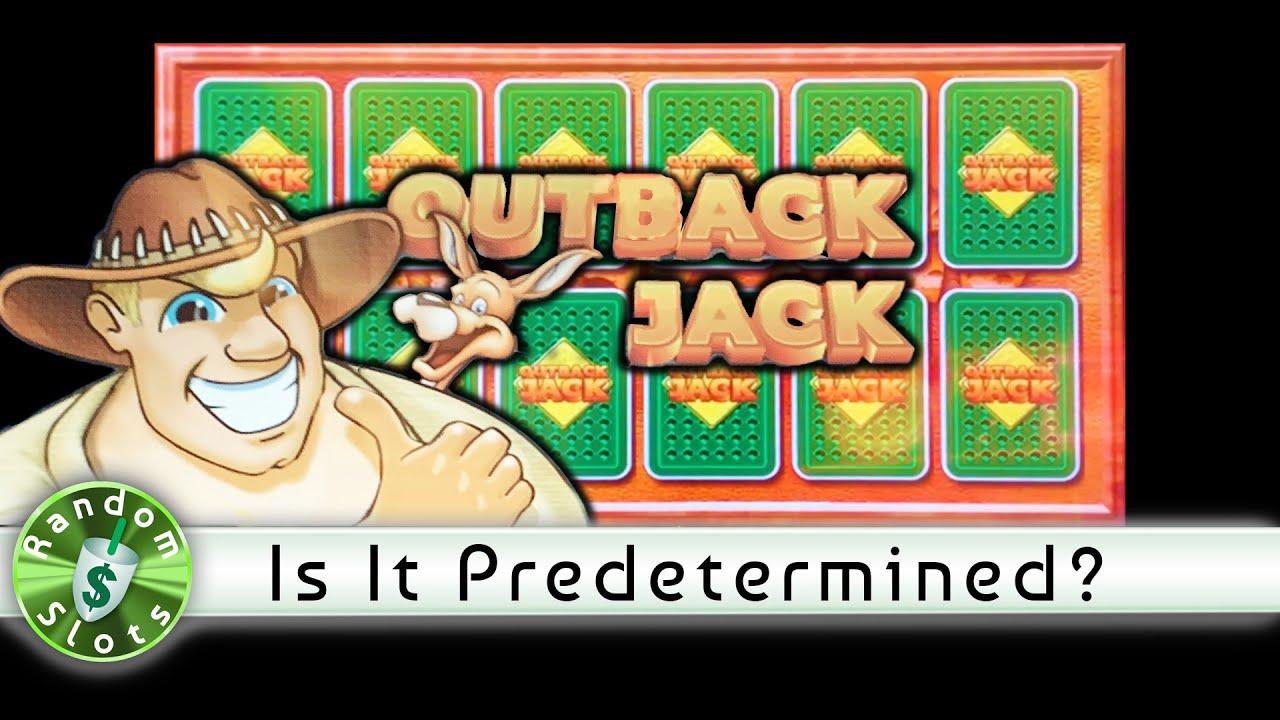 Slot Machine Bonuses Predetermined