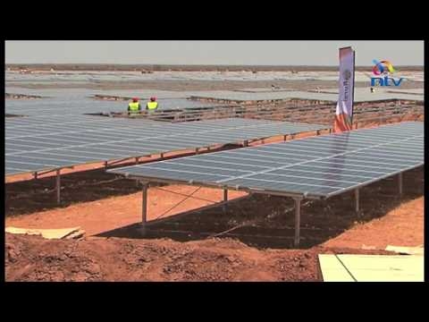East Africa's largest solar project under construction in Garissa