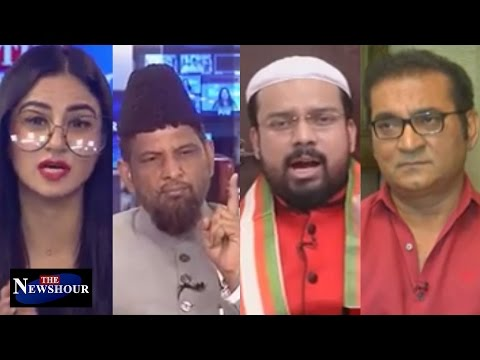 Sonu Nigam Shaves Head To Crop Hate? The Newshour Debate (19th April)