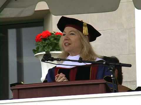 University of Pennsylvania's President Amy Gutmann at Wesleyan University in 2005
