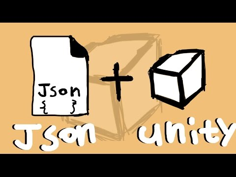 [유니티강좌]  JSON  & UNITY3D  저장과 불러오기 방법!!   #1