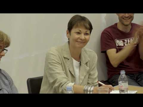 EU/Europe Debate on the Left - In or Out ? With Caroline Lucas & Tom Hickey