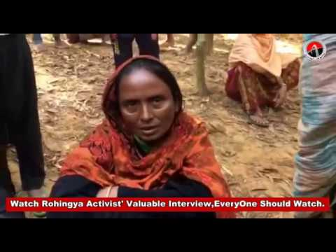 Watch Rohingya Activist' Valuable Interview,EveryOne Should Watch.