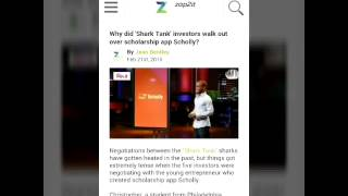 'Shark Tank': Why Does Christopher Gray's 'Scholly