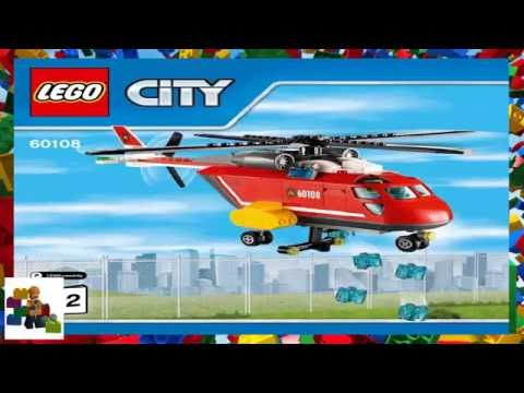 Lego Fire Helicopter 60108 Tagged Videos On Videoholder