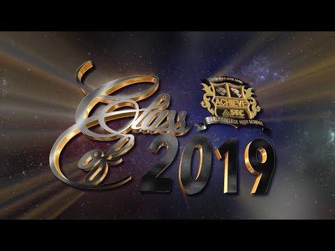 Achieve Early College High School Graduation 2019