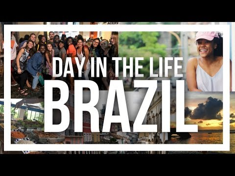 A Day In The Life Study Abroad Vlog | Salvador, Bahia, BRAZIL