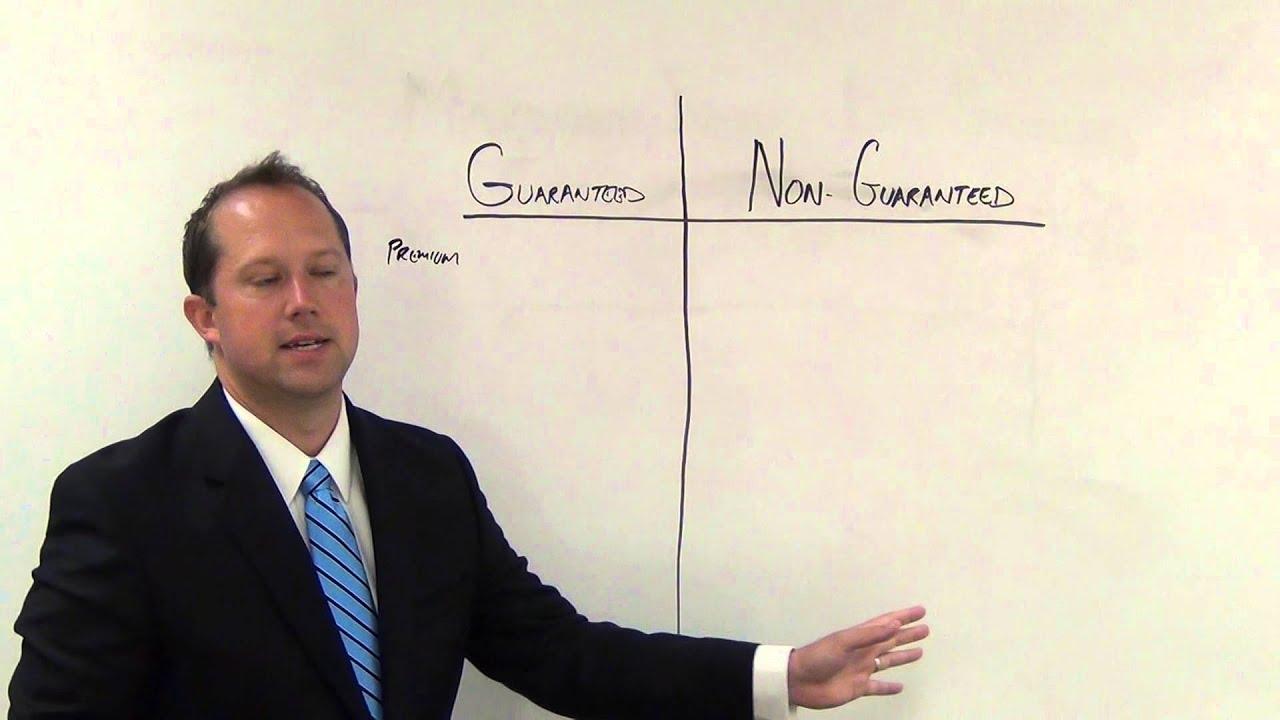 Guaranteed Universal Life Insurance - YouTube