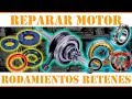 Cambiar Cigueñal Rodamientos Y Retenes | Restaurar Moto Paso A Paso Diy 🛵👨🏻🔧