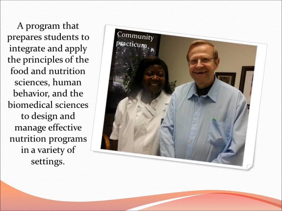 TCC Dietetic Technician program - YouTube