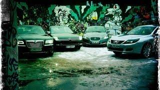 Lancia Thema, Citroën C6, Jaguar XF, Renault Latitude - Diesel-Limousinen im Test