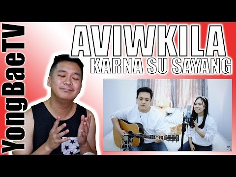 KARNA SU SAYANG - NEAR feat. DIAN SOROWEA (REARRANGE VERSION LIVE COVER BY AVIWKILA) | Reaction