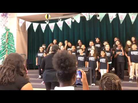 Jay w Jeffers elementary school choir 2016- 2017