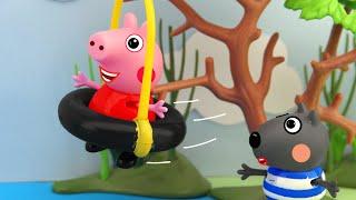 aerial ropeway, Peppa Pig Animation, 4K