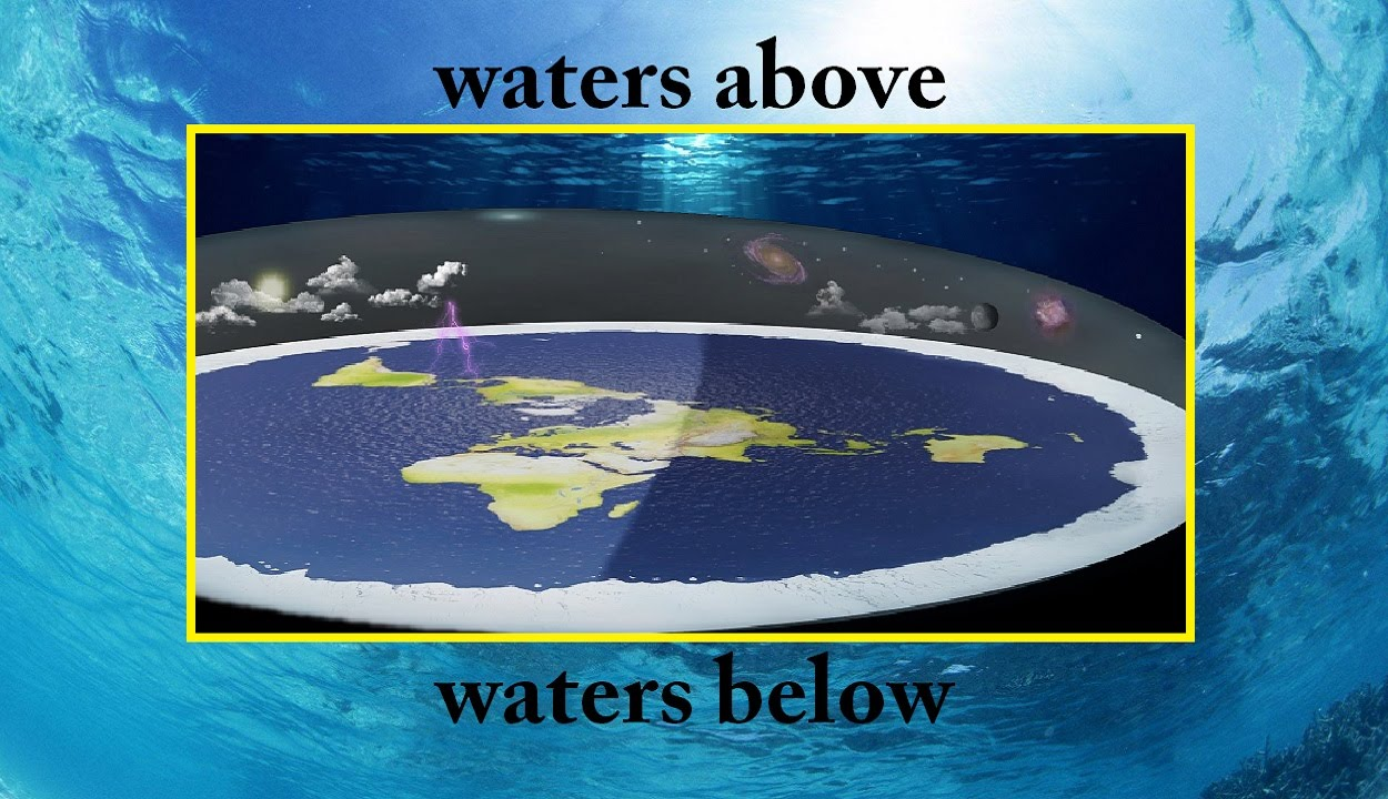 WATERS ABOVE & WATERS BELOW!!! STARS, PLANETS & FLAT EARTH!!! - YouTube