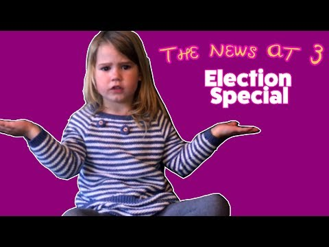 UK Election: A Scottish three year old's take...