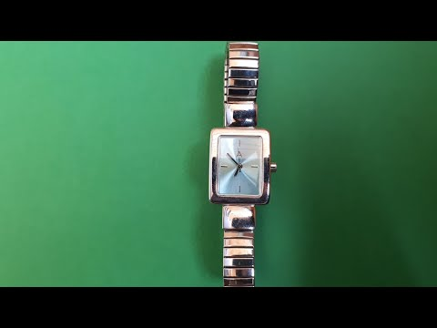 Ladies Watch A stainless steel back ICW 102 avon cosmetics