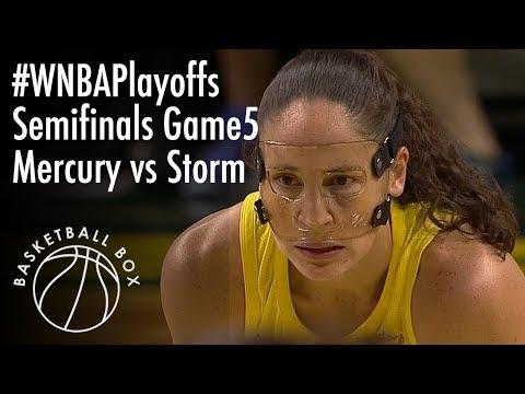 [WNBA Playoffs Semifinals Game5] PHX Mercury vs SEA Storm, Full Game Highlights, September 4, 2018