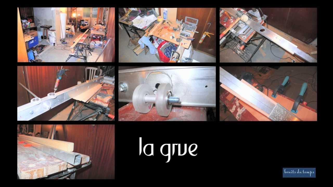 Fabrication artisanale d 39 une grue et d 39 un steadicam youtube - Plan pour fabriquer table forestiere ...