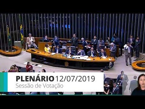 Câmara conclui 1º turno de votação da reforma da Previdência - 12/07/2019 - 16:57