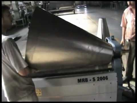 Plate Rolls Cone Rolling Mrb S 2006 Durma Youtube