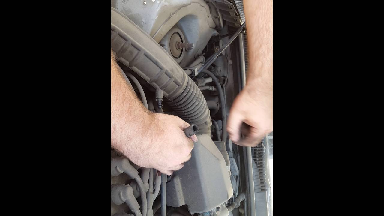hight resolution of 1997 1997 thunderbird 3 8l pcv hose replacement