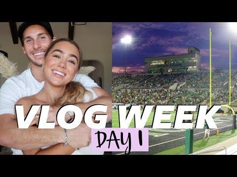 RESTORATION HARDWARE OUTLET, DATE NIGHT & TEXAS FOOTBALL | Julia & Hunter Havens