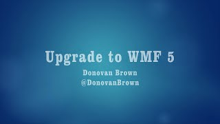 Upgrade to Windows Management Framework 5 preview