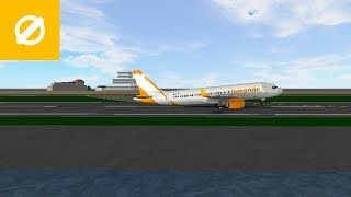 CABIN CREW   LeMonde Airlines - Airbus A320   ROBLOX