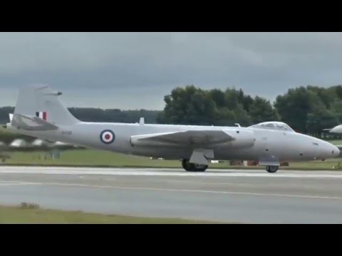 English Electric Canberra Flying at Waddington 2014