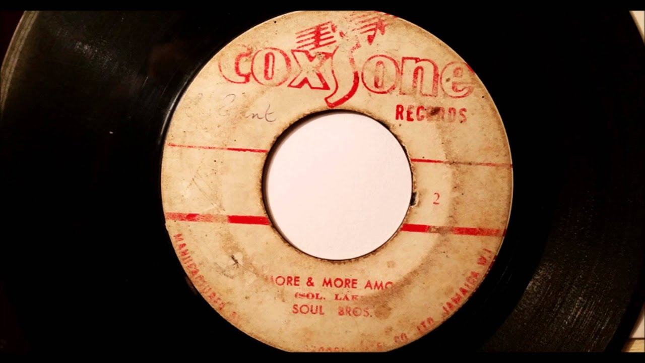 Delroy Wilson The Soul Brothers Dancing Mood More And More