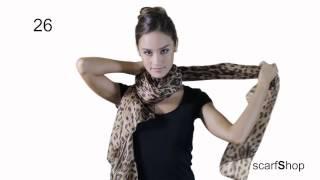 Varias formas de ponerse un pañuelo!
