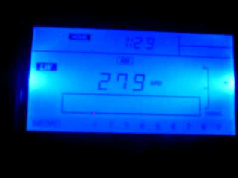 Turkmen Radio Watan on 279 kHz - received in Hungary