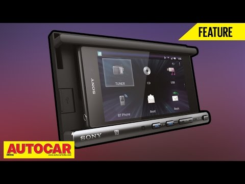 Sony XSPN1BT  In Car Entertainment System Review  Autocar India