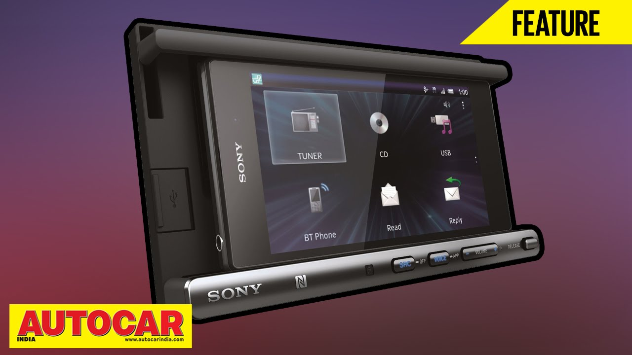 Sony xsp n1bt in car entertainment system review autocar india youtube