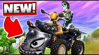 FORTNITE BATTLE ROYALE: NEW EPIC QUAD CRASHER IN ACTION
