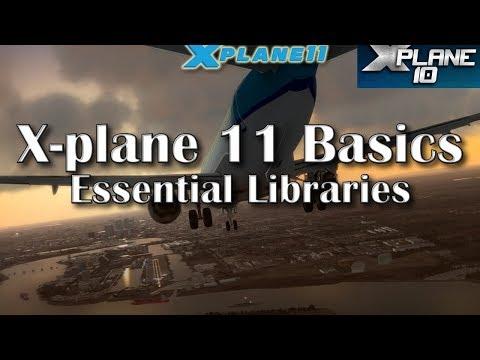 X-PLANE 10 et 11 - Installer une scène