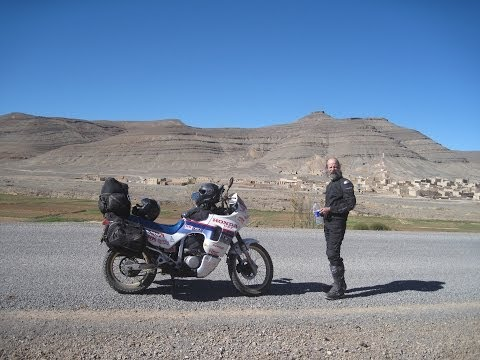 [Slow TV] Motorcycle Ride - Morocco - Tinghir to Dardes Gorges