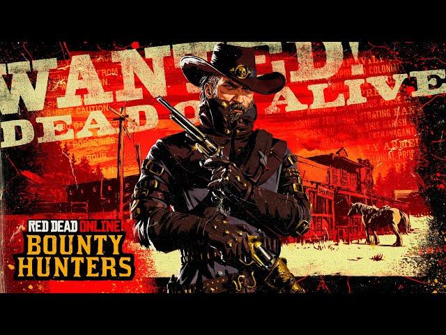 Red Dead Online - Mise à jour chasseur de primes prestigieux - Trailer de lancement